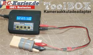 Toolbox Ladeadapter Fotoakku